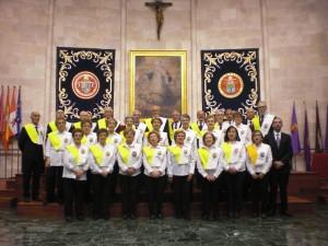 El Coro de la Experiencia en el Paraninfo de la Universidad de Valladolid. Clausura Fin de Curso 2014-2015